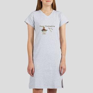 Thanksgiving Wishbone Girl T-Shirt