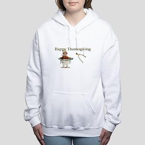 Thanksgiving Wishbone Girl Sweatshirt