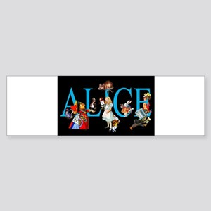 ALICE__special_black_10x14 Bumper Sticker