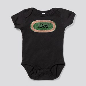 i dad track and field.png Baby Bodysuit