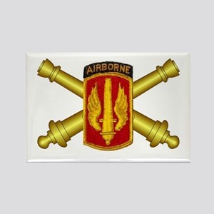 18th Field Artillery Brigade Rectangle Magnet