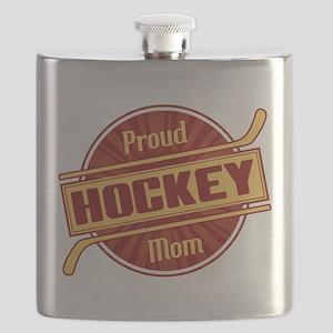 Proud Hockey Mom Flask