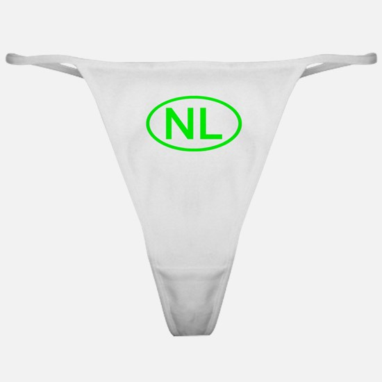 Netherlands - NL Oval Classic Thong