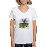 As Above So Below #11 Women's V-Neck T-Shirt