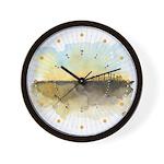 The Woods III Wall Clock