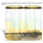The Woods III Shower Curtain