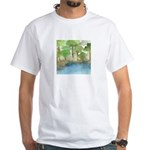Trees by the sea 1 White T-Shirt
