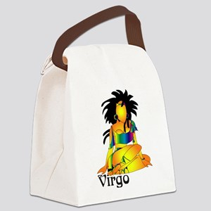 Whimsical Virgo Canvas Lunch Bag