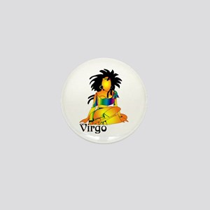 Whimsical Virgo Mini Button
