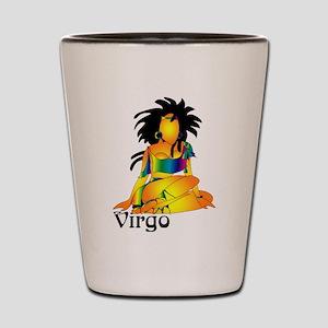 Whimsical Virgo Shot Glass