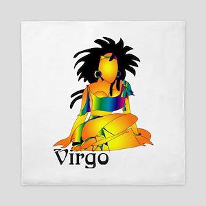 Whimsical Virgo Queen Duvet