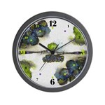 As Above So Below #7 Wall Clock with hours