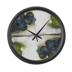 As Above So Below #7 Large Wall Clock