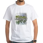 As Above So Below #5 White T-Shirt