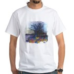 As Above So Below #12 White T-Shirt