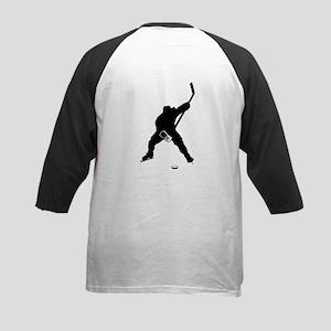 Hockey Player Kids Baseball Jersey