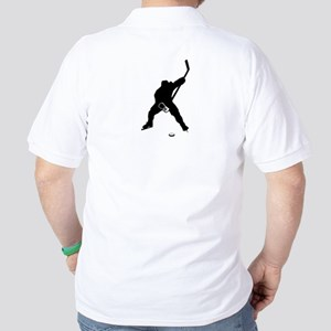 Hockey Player Golf Shirt