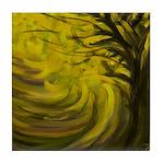 forest #3DA Tile Coaster