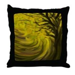 forest #3DA Throw Pillow