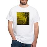 forest #3DA White T-Shirt