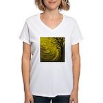 forest #3DA Women's V-Neck T-Shirt