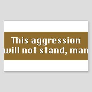 This aggression-CP Sticker