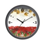 As Above So Below #3 Wall Clock with hours
