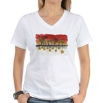 As Above So Below #3 Women's V-Neck T-Shirt
