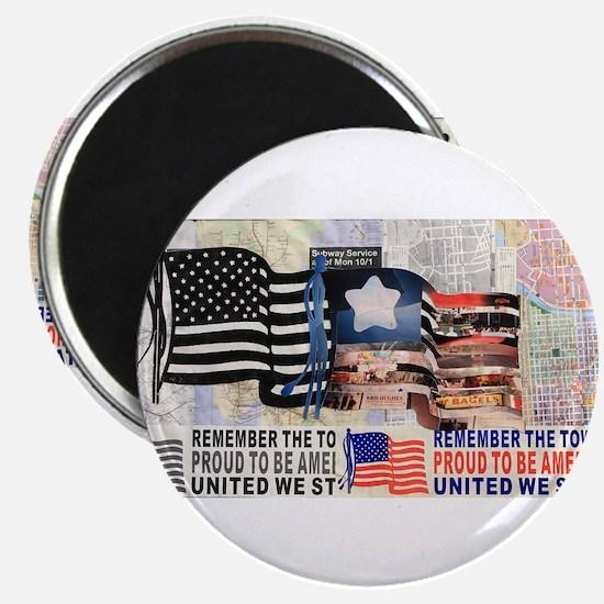 "Remember 911 2.25"" Magnet (100 pack)"