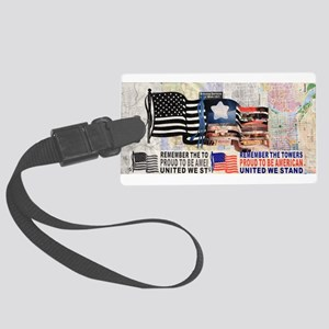 Remember 911 Luggage Tag