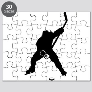 Hockey Player Puzzle