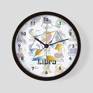 Whimsical Libra Wall Clock