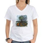 As Above So Below #8 Women's V-Neck T-Shirt