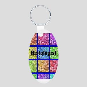 Histologist flip flops 6 Keychains