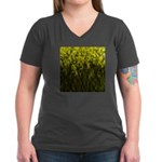 Forest #1 DA Women's V-Neck Dark T-Shirt
