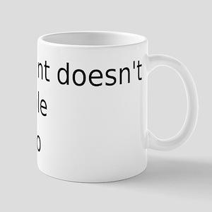 Powerpoint doesn't kill people Mug
