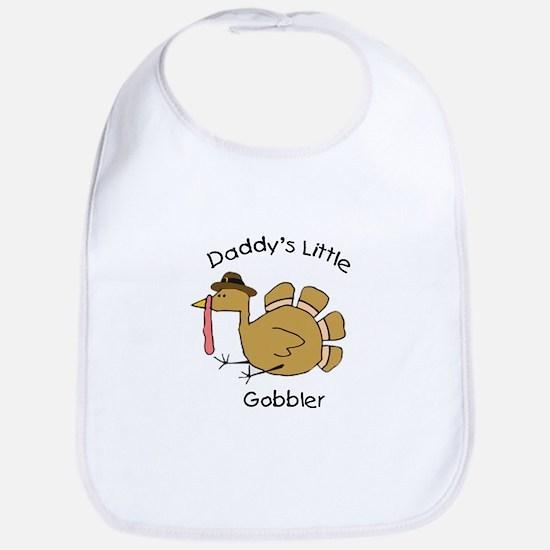 Daddy's Little Gobbler Bib