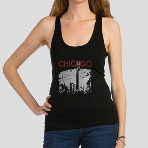 chicagoskyline.png Racerback Tank Top