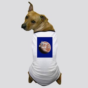 Spaceman with little-dog Dog T-Shirt