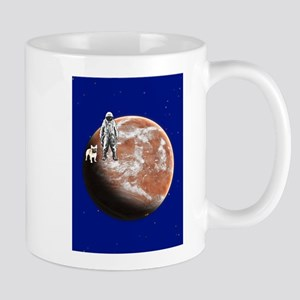 Spaceman with little-dog Mug