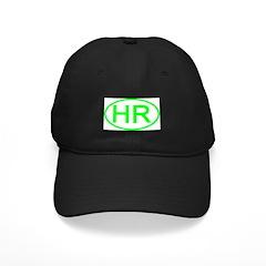 Croatia - HR Oval Baseball Hat