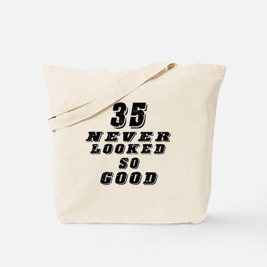 35 Birthday Designs Tote Bag