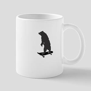skater bear skateboard dude Mug