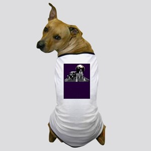 Spaceman Hitch-Hiker Dog T-Shirt