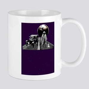 Spaceman Hitch-Hiker Mug