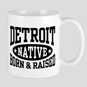 Detroit Native 11 oz Ceramic Mug