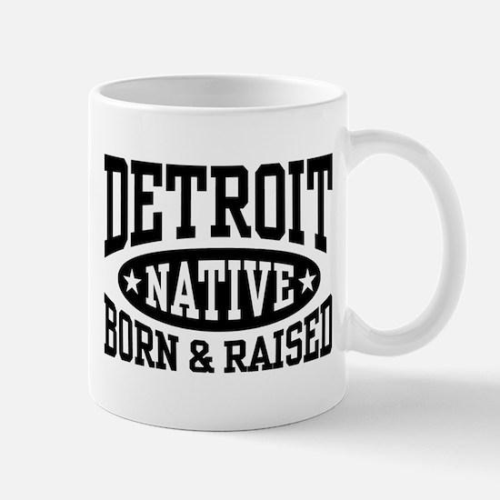 Detroit Native Mug