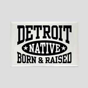 Detroit Native Rectangle Magnet
