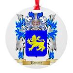 Brwme Round Ornament