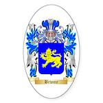Brwme Sticker (Oval 50 pk)